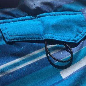 Oakley Swim - OAKLEY Blue Tie Board Short Swim Trunks